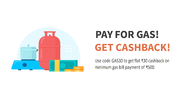 Freecharge gas bill payment offer