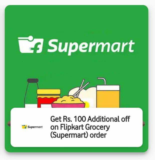 Flipkart Supermart offer