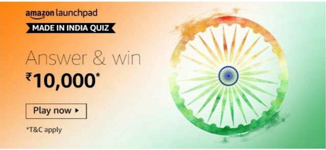 Amazon Made In India Quiz Answers