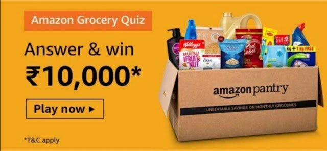 Amazon Grocery Quiz Answers