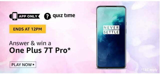 Amazon Quiz Answer 21th June 2020