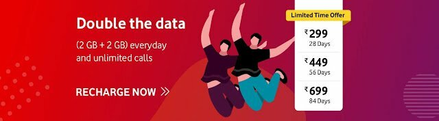 Vodafone Double Data Offer