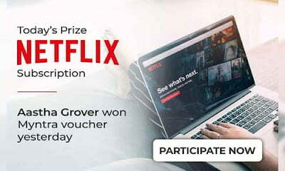 Nearbuy Free Netflix Subscription Offer