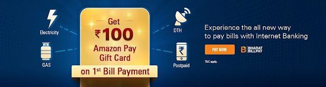 ICICI bill payments offer
