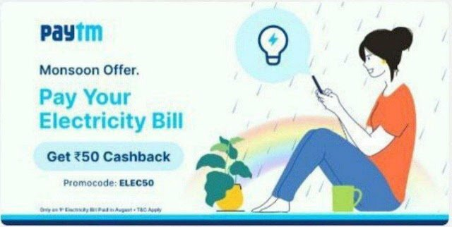 Paytm Recharge & Bill Payments Offer
