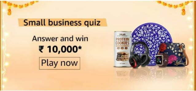 Amazon Small business Quiz Answers