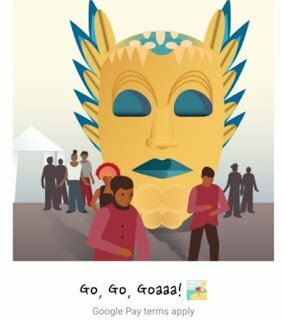 Get Free Goa Ticket In Google Pay Go India Game