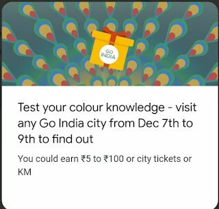 Go India Test Your Colour Knowledge Event