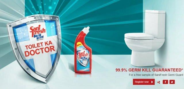 Free Sample Of Sanifresh Germ Guard