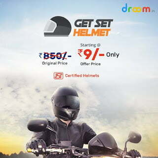 Buy Droom Helmet At Just ₹9 Only