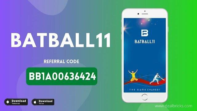 BatBall11 Fantasy App Referral Code