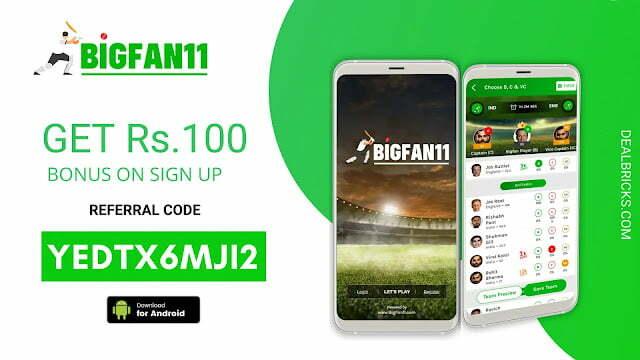 BigFan11 Referral Code, App Download