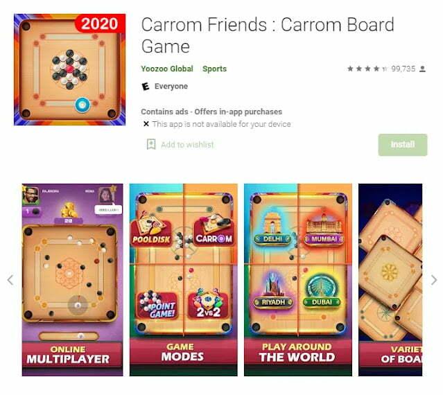 Carrom Friends