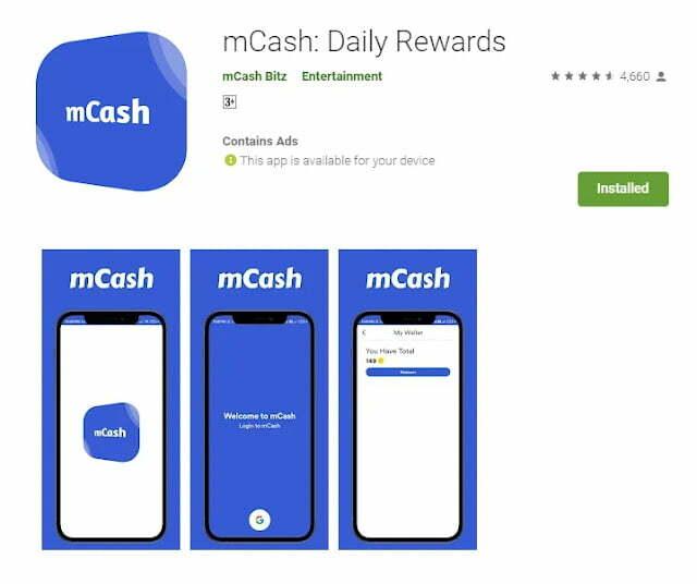 mCash Referral Code